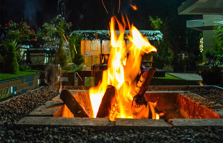 The Fireplace at Gem Park