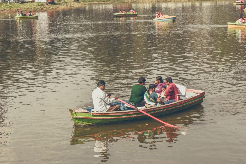 Boating at Kodaikanal Lake
