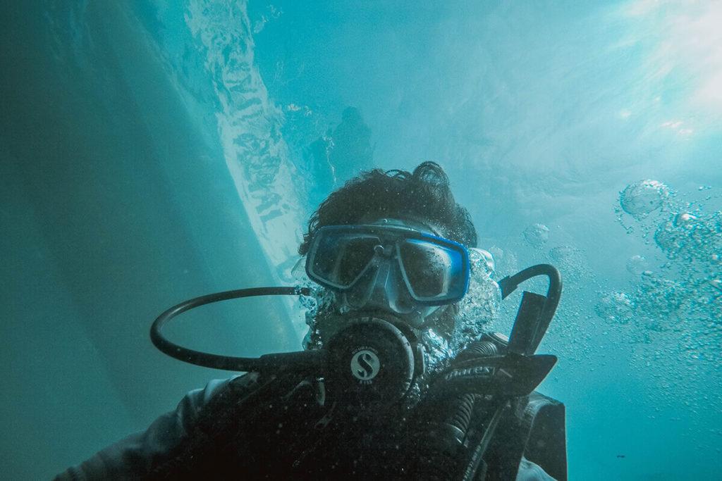 Scuba Diving at Hikkaduwa Beach