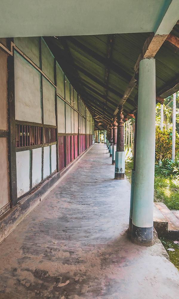 Dormitories at Satras
